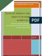 Guide de Redaction Du Rapport de Stage Ver 1.2.Docx