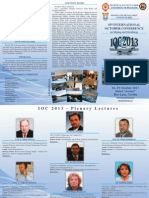 IOC 2013 - Second Announcement and Call for papers
