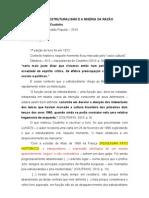 Fichamento Livro COUTINHO - O estrturalismo e a miséria da razão