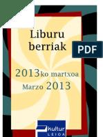 2013ko martxoa - Marzo 2013