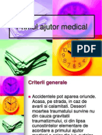 Primul Ajutor Medical