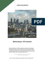 Mathématiques -  BTS Industriel