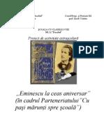Eminescu La Ceas Aniversar