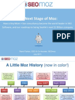 SEO MOZ Pitch Deck