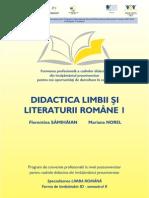Florentina Samihaian Didactica Limbii Si Literaturii Romane Vol 1