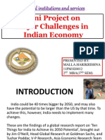 many challenges on indian economy ppt