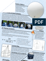 STRATOS Weather Balloon Information Display for The Big Bang Fair 2013, National Science and Engineering Competition