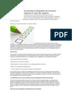 Los Cinco Mejores Procesos Integrados de Recursos Humanos Que Impulsan El Valor Del Negocio