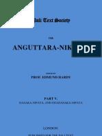 Anguttara-Nikaya. Part 5 [Roman-Script]