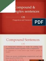 compound  complete sentences fun
