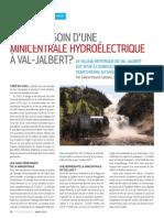 A-t-on besoin d'une minicentrale hydroélectrique à Val-Jalbert?