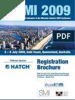 SDIMI 2009 Registration Brochure