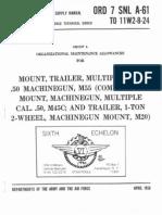Quad 50 ORD 7 SNL A-61 Mount Trailer, Multiple Cal .50 MG, M55 - 1956.pdf