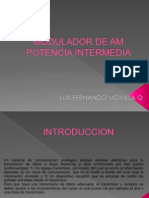 Modulador de Am Potencia Intermedia 2