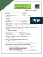 Open Enrollment Application 2013-2014