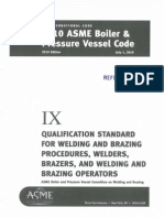 Asme Section IX-2010