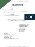 Sec v DTTC SEC Memo Dock 55 3-28-13