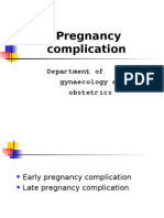 Early Pregnancy Complications