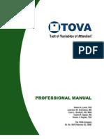 TOVA Professional Manual 844
