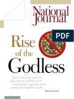 Rise of the Godless National Journal March 2009