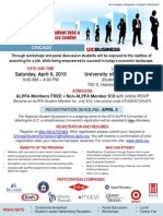 ALPFA Chicago Symposium Flyer