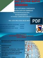 Actividad Complementaria 1 Humanidades II