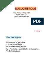 Blg121 Pharmacocinetique Outils Mathematiques Oct10