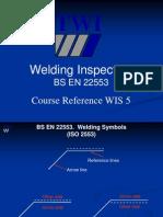 BS en 22553 Welding Arrow Symbol