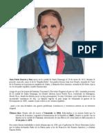 Biografia Juan Pablo Duarte y Diez CORTA