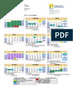 CEJW - Calendário Colorido de 2013