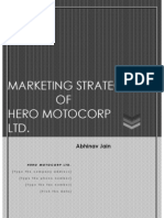 Hand Written Hero Motocorp in Sequence. - Copy