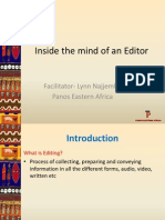 Inside the Mind of an Editor.ppt