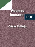 22915330 Poemas Humanos Cesar Vallejo