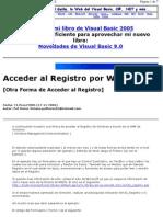 Acceder Al Registro Desde Vb6