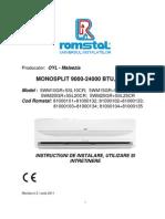 Monosplit 9 24 r410a Ro