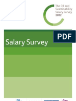 The CR and Sustainability Salary Survey 2012