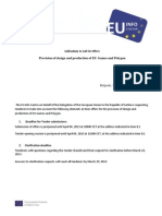 Addendum - Provision of Design and Production of EU Games and Polygon - 14032013