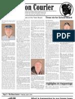 Bison Courier, April 4, 2013