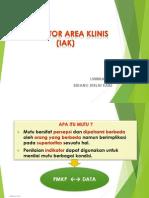Indikator Area Klinis