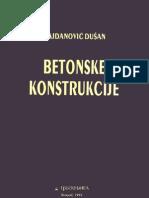 Betonske Konstrukcije - Najdanovic