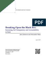 Breaking Open the Black Box