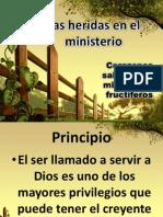 Las Heridas en El Ministerio IBE Callao Retiro Escuela 2013