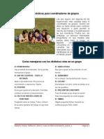 Reglas prácticas para coordinadores de grupos