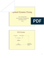 Optimal Dynamic Pricing
