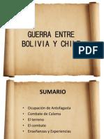 Guerra Entre Bolivia y Chile- Calama