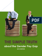 Gender wage gap study