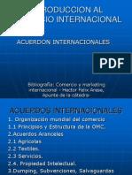 Acuerdos Int. OMC