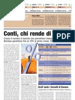 Conti, chi rende di più (24Minuti, 03/07/2007)