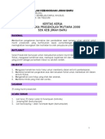 kertas kerja Sukan Pra 2008