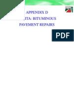 Appendix D SABITA Bituminous Pavement Repairs Total